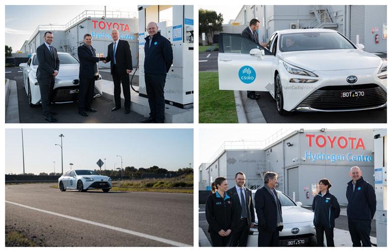 Fuel cells works, hydrogen, FCEV, BeFunky, CSIRO, fuel cells