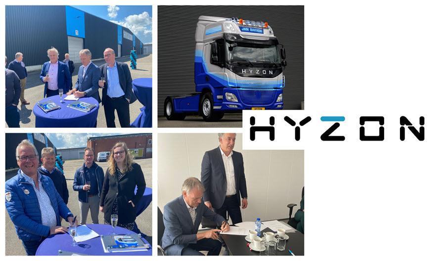 Fuel cells works, hydrogen, Netherlands, Befunky, hyzon motors, fuel cells