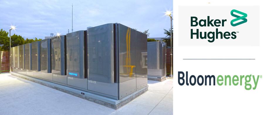 Fuel cells works, hydrogen, bloom energy, Baker Hughes, fuel cells
