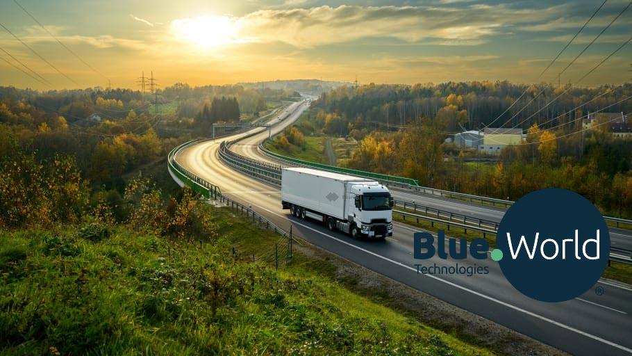 Fuel cells works, hydrogen, Blue World, clayton