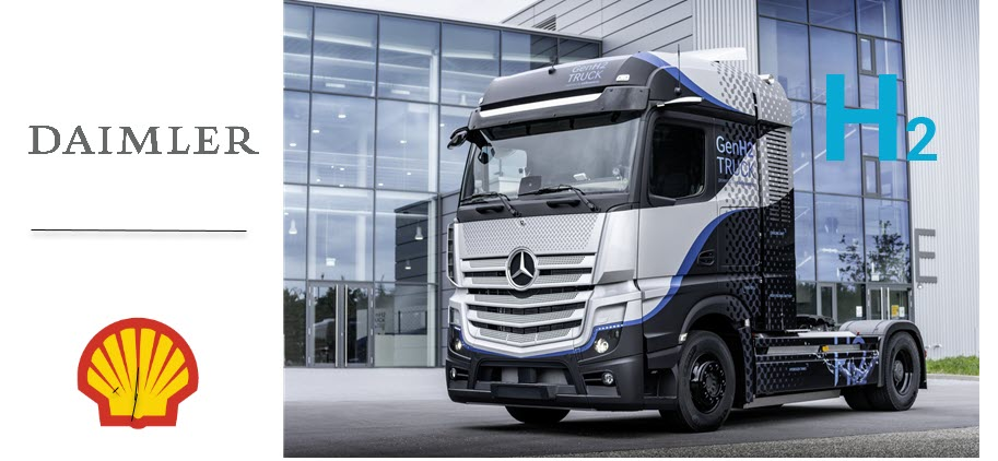 Daimler Truck AG And Shell Target Accelerated Rollout Of Hydrogen Based Trucking In Europe