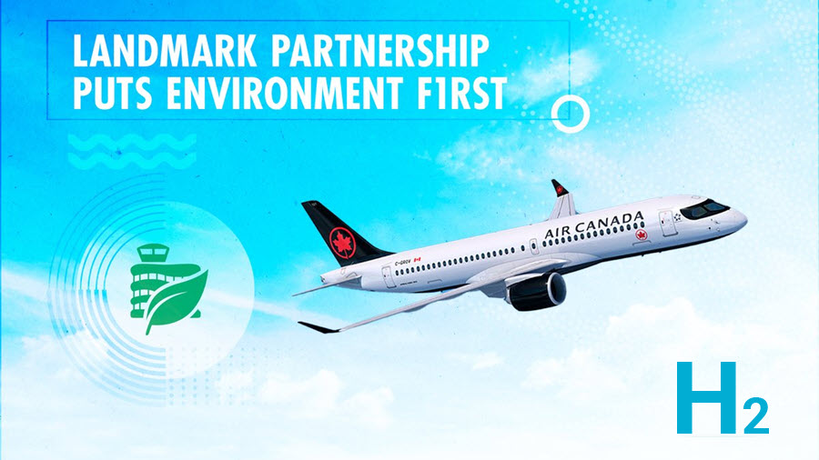 Fuel cells works, hydrogen, Edmonton International Airport, h2, green, canada, landmark, fuel cells