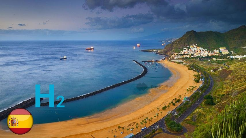 Enagas and DISA promote the creation of a green hydrogen hub in the Canary Islands