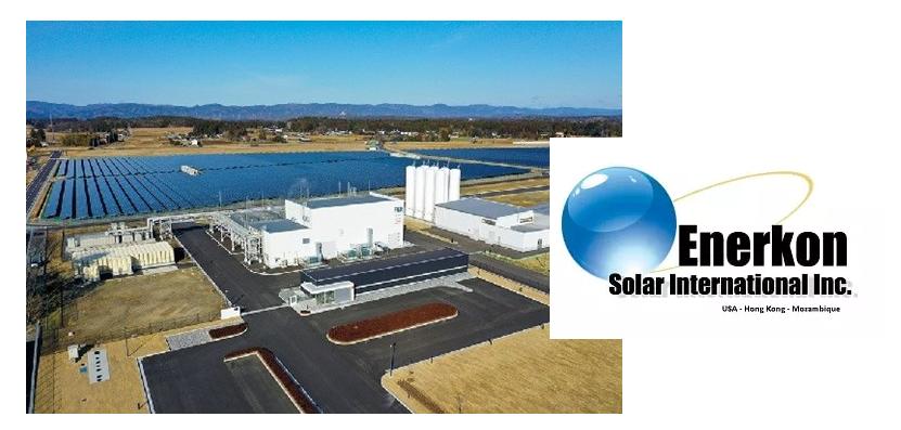 Fuel cells works, hydrogen, Enerkon Solar International Inc