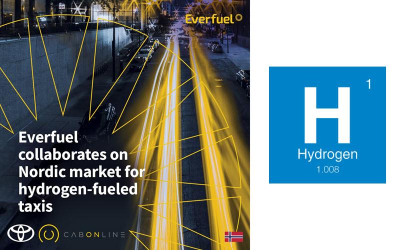 Fuel cells works, hydrogen, Everfuel, cabonline, fuel cell