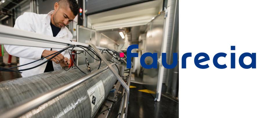 Fuel cells works, hydrogen, Faurecia, global, fuel cells