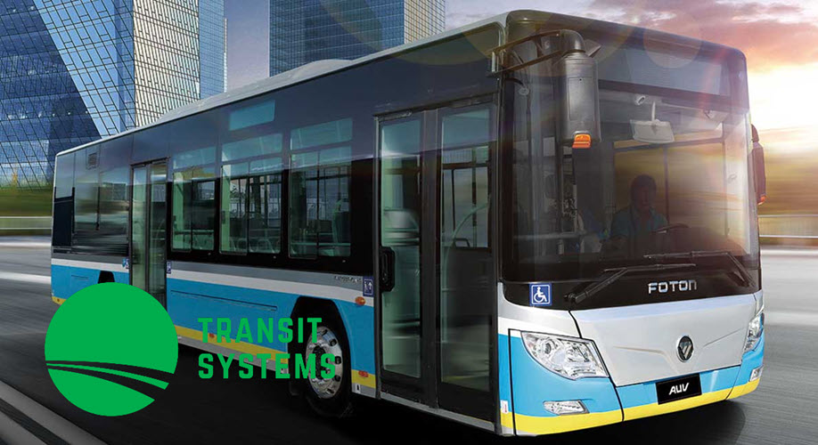 Foton Tranis Systems Hydrogen Bus Order