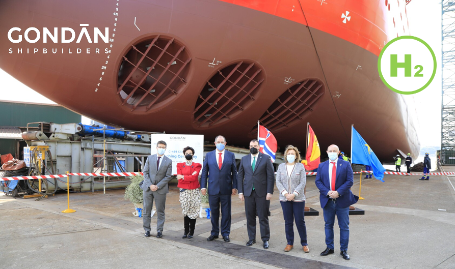 Fuel cells works, GONDAN Launches a New Commissioning Service Operation Vessel that is Hydrogen Ready