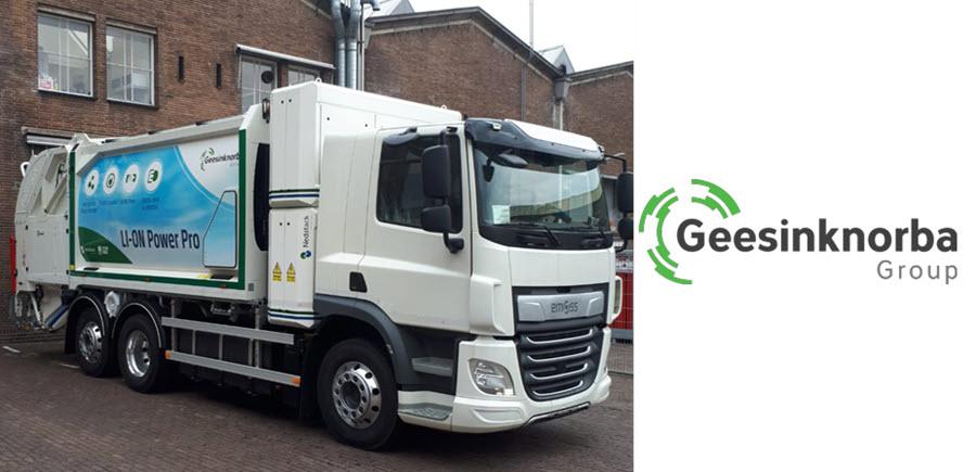 Fuel cells works, hydrogen, Geesinknorba, vehicle