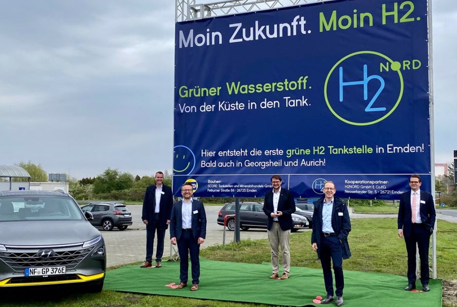 Fuel cells works, hydrogen, H2NORD, fuel cells, germany