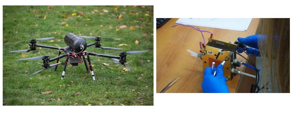 Fuel cells works, hydrogen, drones, full cells, HYPOWER