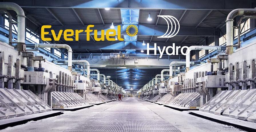 Fuel cells works, hydrogen, Everfuel, plants, hydro, fuel cells