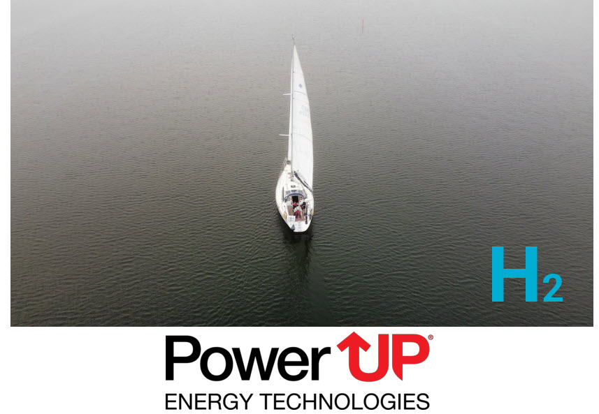 Fuel cells works, hydrogen, powerup, Generator for Sailing, energy, fuel cells