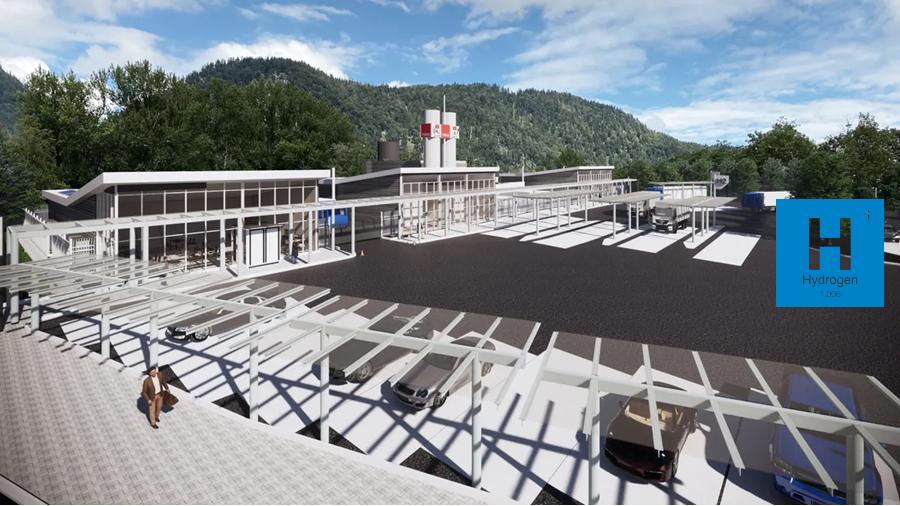 Fuel cells works, hydrogen, Tyrol, stations