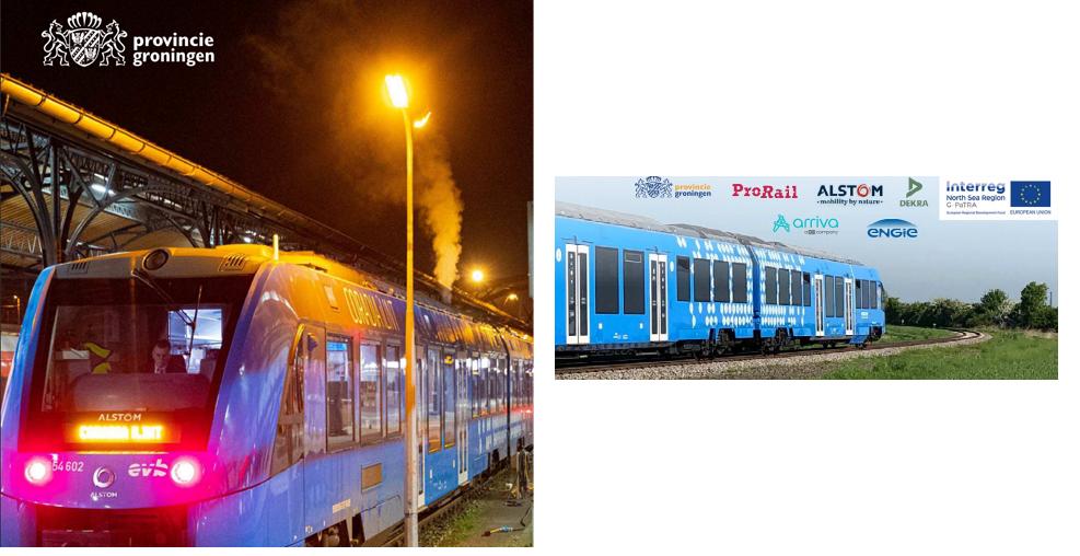 Fuel cells works, hydrogen, train, Testing, fuel cells