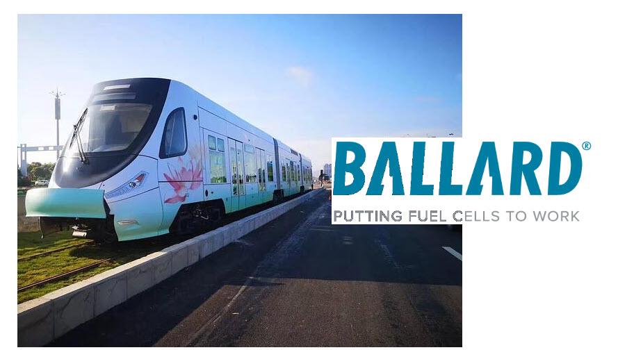Fuel cells works, hydrogen, trains, ballard