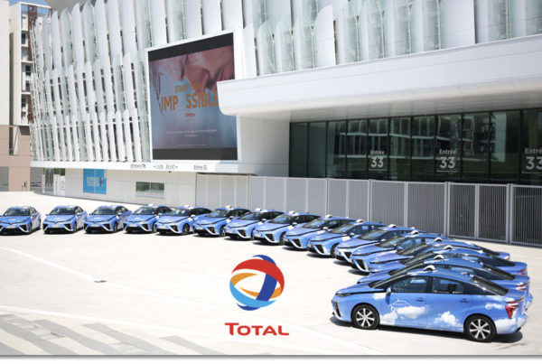 Fuel cells works, hydrogen, Hysetco, total, taxi, fuel cells
