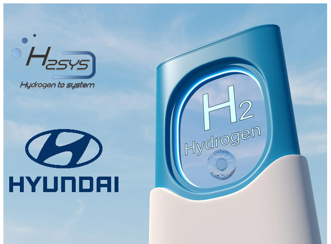 Fuel cells works, hydrogen, H2SYS, hyundai motor, fuel cells, h2