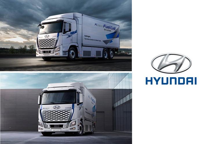 Fuel cells works, hydrogen, hyundai, XCIENT, fuel cell