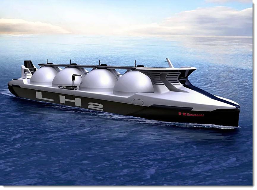 fuel cells works, hydrogen, KHI, Fuel cells