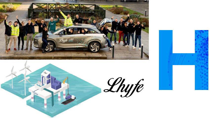 Fuel cells works, hydrogen, Startups, Lhyfe, green, fuel cells