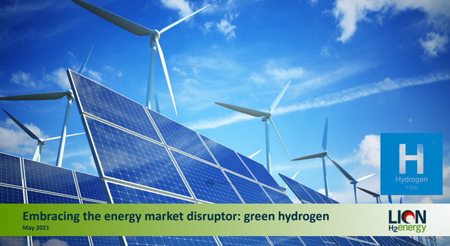 Fuel cells works, Lion Energy Signs MOU with Wagner Corporation to Pursue Green Hydrogen