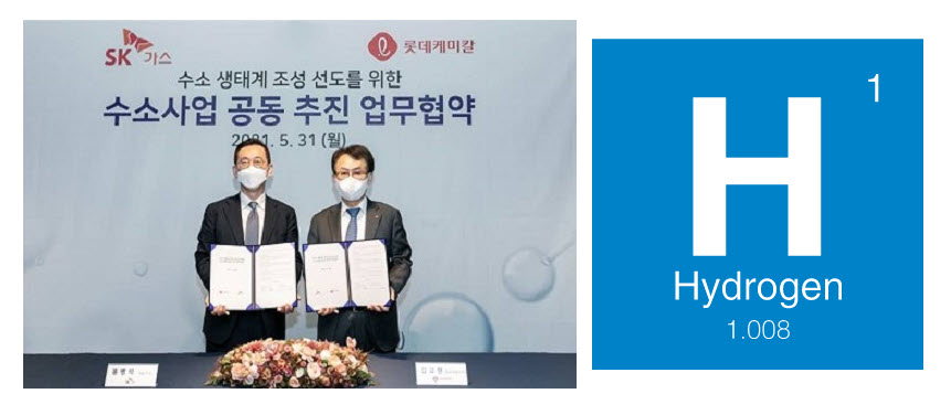 fuelcellsworks, Lotte Chemical and SK Gas Agree Join in the Creation of a Hydrogen Ecosystem
