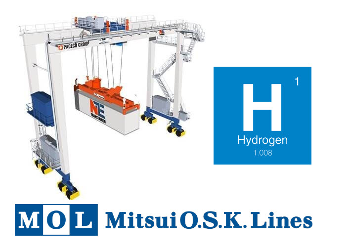 Mitsubishi and Mitsui to Launch Study on Hydrogen Fuel Powered Port Cargo Handling Machines