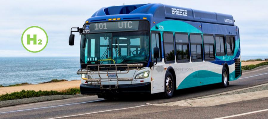 Fuel cells works, hydrogen, NCTD, bus, fuel cells