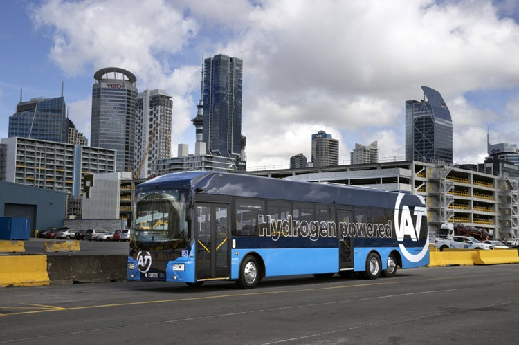 New Zealand Bus Trial