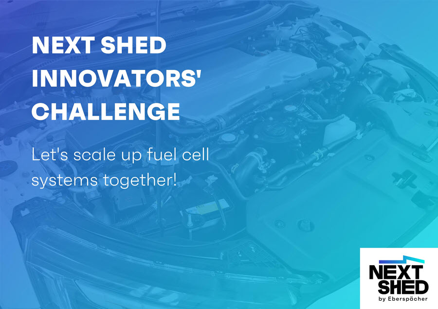 Fuel cells works, Next Shed Innovation Competition: Fuel Cell Technologies