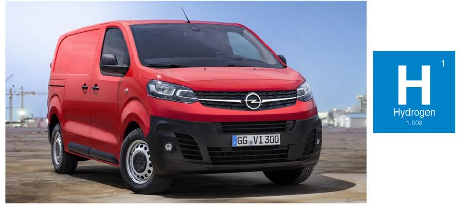 Fuel cells works, hydrogen, Opel, Vans, fuel cell