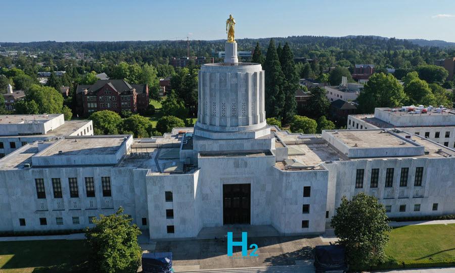 Fuel cells works, hydrogen, Oregon, house, fuel cells