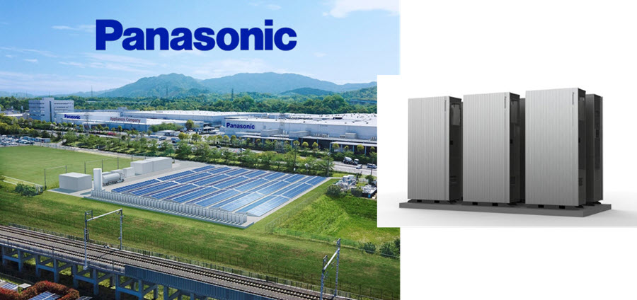 Fuel cells works, hydrogen, Panasonic, fuel cell