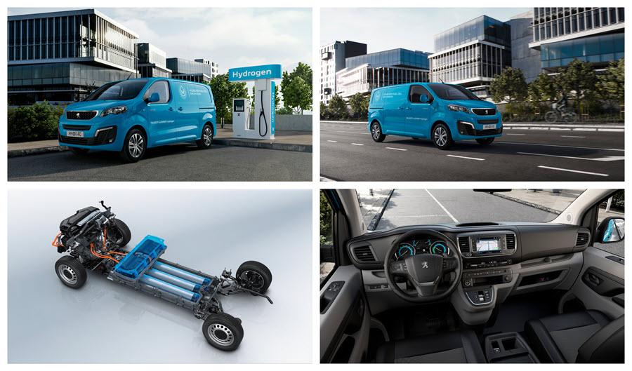 Fuel cells works, hydrogen, Peugeot, fuel cells, van