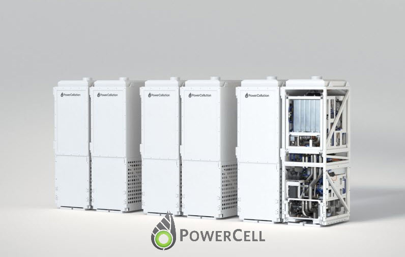 Powercell Marine Fuel Cells