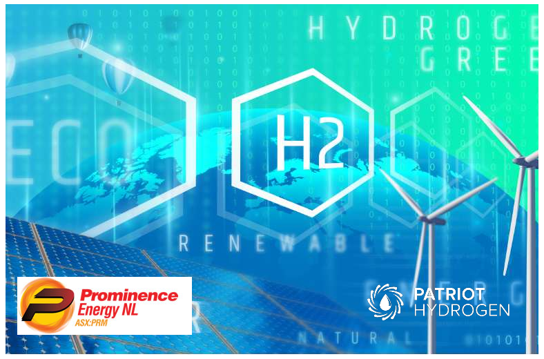 Fuel cells works, Prominence Energy Enters the Hydrogen Business with 20% Acquisition of Patriot Hydrogen, h2