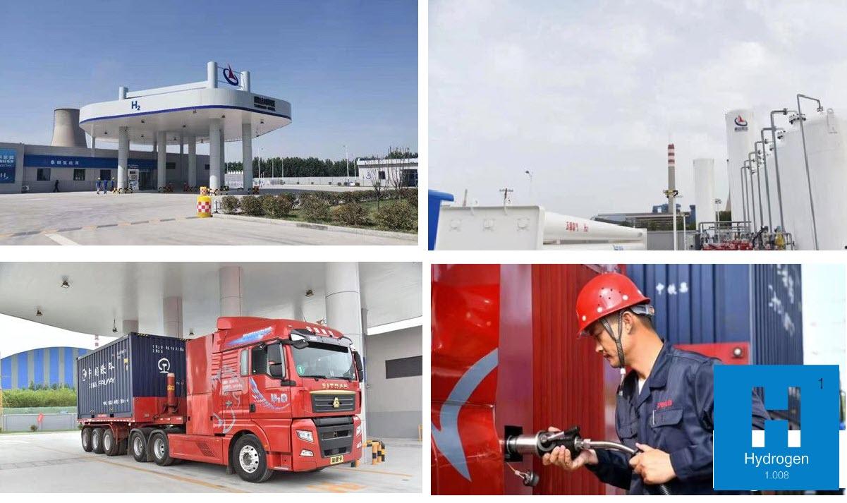 fuelcellsworks, shandong first hydrogen refueling station, hydrogen, h2