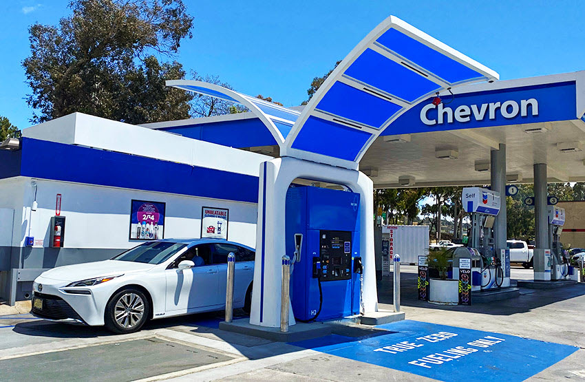 Fuel cells works, hydrogen, california