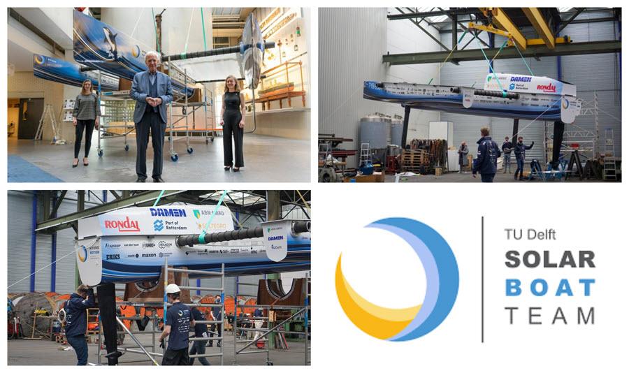 fuel cells works, hydrogen, TU Delft, boats, fuel cells