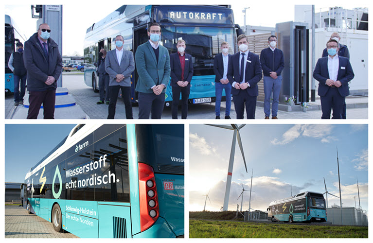 Fuel cells works, hydrogen, buses, fuel cell, GP