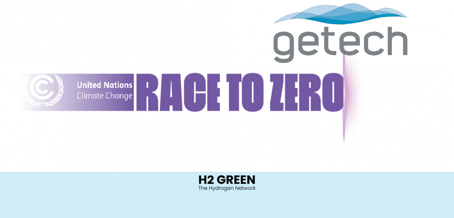 Fuel cells works, hydrogen, getech, Race to Zero, fuel cells