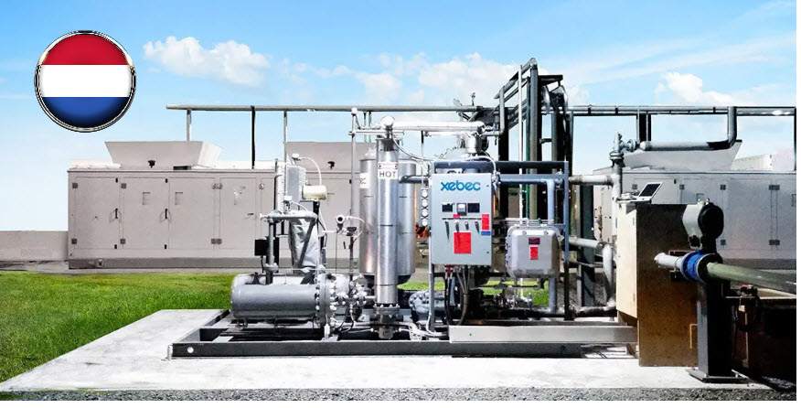 Fuel cells works, hydrogen, Xebec, fuel cells