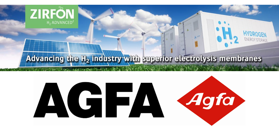 agfa launches its high performance zirfon utp 220 membrane for the production of green hydrogen 1