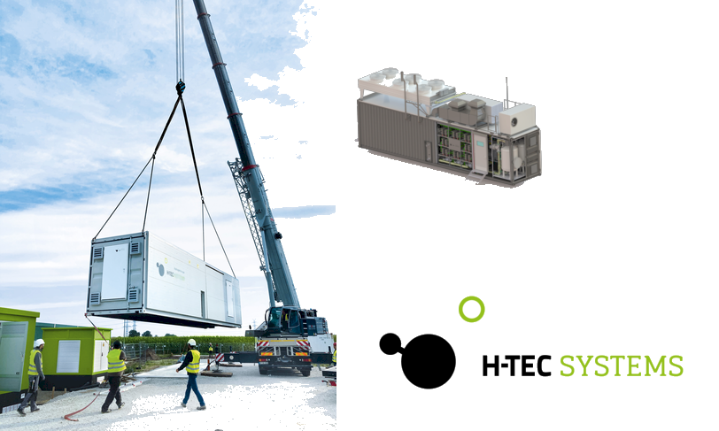 AEG POWER SOLUTIONS SUPPLYING POWER TO H TEC ELECTROLYSERS AT HAURUP WIND POWER SITE