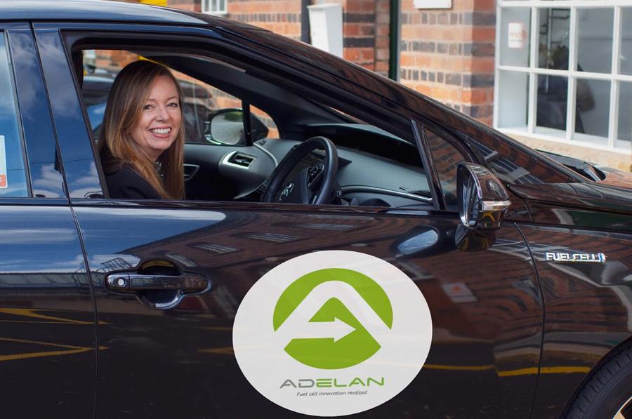 Adelan drives hydrogen demand in the Midlands with Toyota Mirai 2