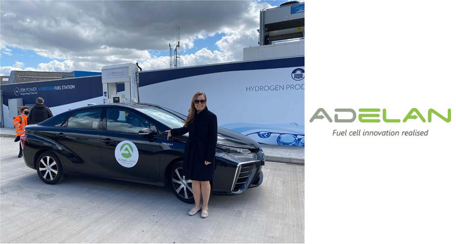 Adelan drives hydrogen demand in the Midlands with Toyota Mirai