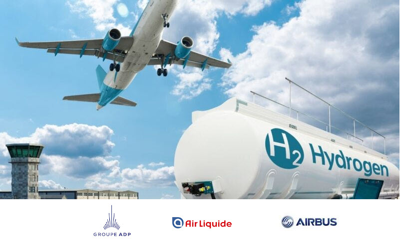 Fuel cells works, Air Liquide, Airbus and Groupe ADP Partner to Prepare Paris Airports for the Hydrogen Era