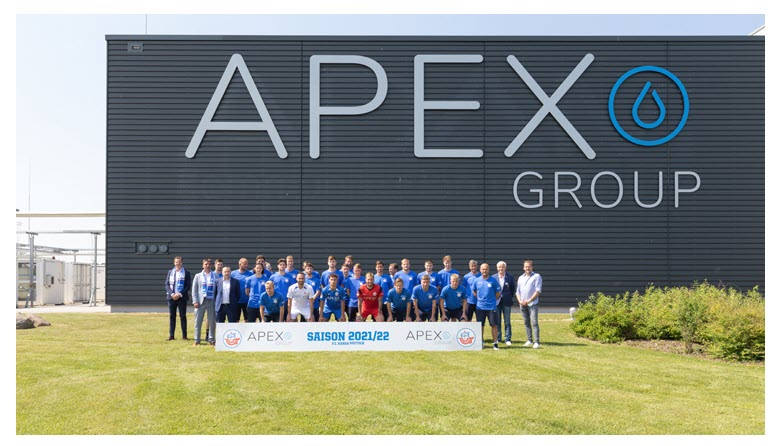 Fuel cells works, APEX Group Becomes the New Main Sponsor of FC Hansa Rostock