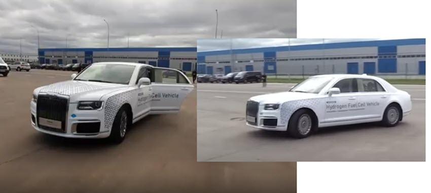 Fuel cells works, Russia: Aurus Unveils a Hydrogen-Powered Luxury Limousine